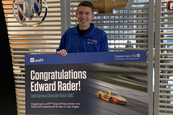 Edward Rader, Lake Geneva Chevrolet Buick GMC