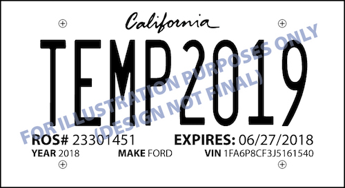 Dealertrack California Ab 516 Dealership Report Of Sale Temp Plates